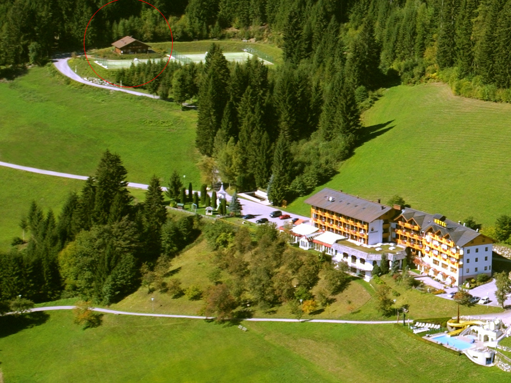 Aerial Picture of Hotel and Glocknerhaus