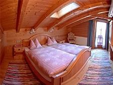 Rustikales Doppelzimmer im Glocknerhaus